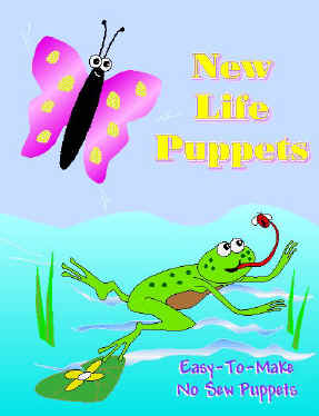 New Life Butterfly and Frog Puppets